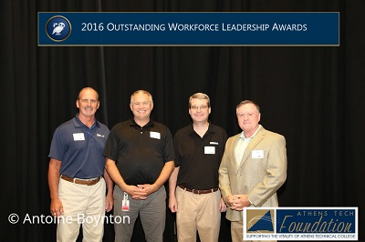 Project Team Receives Leadership Award at Georgia Site