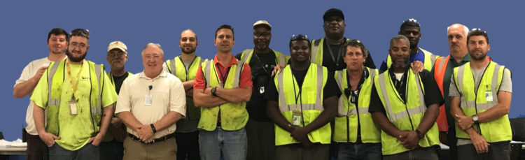 Pensacola Project Team Wins Housekeeping and Safety Award