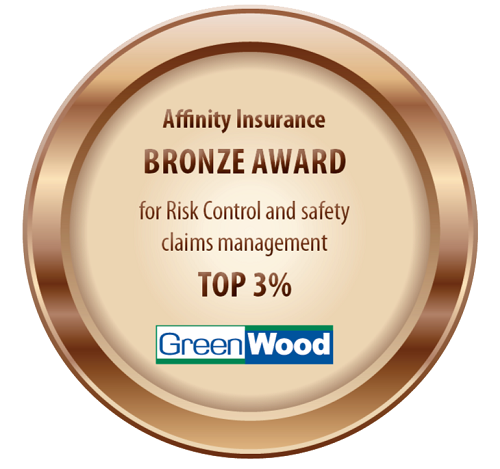 GreenWood Earns Affinity Insurance Risk Control Safety Award
