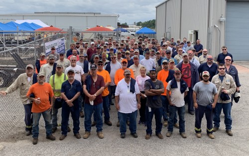 GreenWood, Inc. Celebrates 5 Million Safe Work Hours at WVO Project