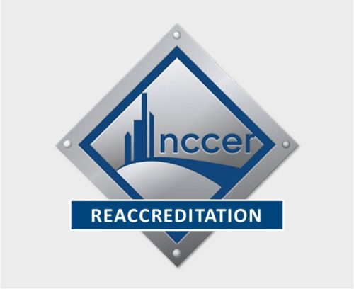 NCCER Recertification Completed